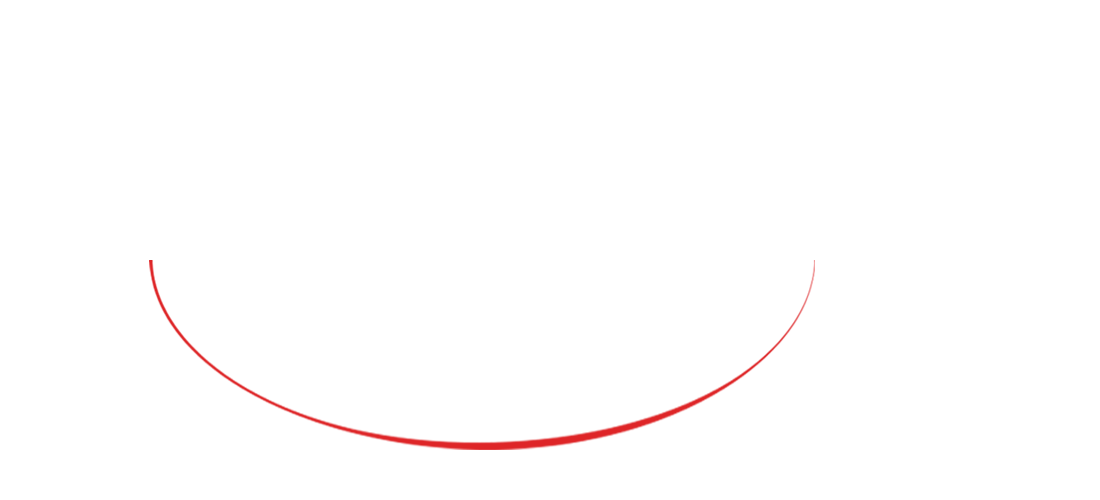 Front red oval line